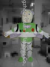2015 nuevo juguete buzz lightyear traje de la mascota