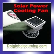 New design mini plastic mini loaf pan Solar Power mini electric frying pan Cooling fan Air Cooling pan