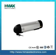 lifepo4 36v 10ah bottle type light electric bike battery