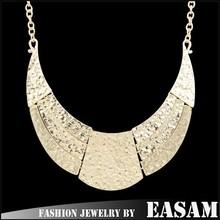 Unique Design Tribal Multi-Strand Moon Fashion Stretch Necklace