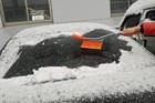 walk behind snow sweeper