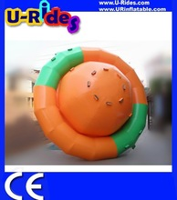 Inflatable Water Rocket / Inflatable Water UFO Seesaw For Water Park Toy