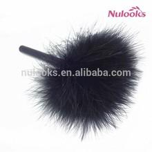 cosmetic powder makeup brush DF-059 black handle