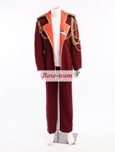 Rose-team Fantasia Anime Made Uta no Prince-sama Jinguuji Ren Military uniform Cosplay Costume