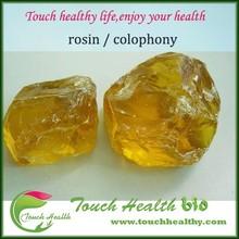 Touchhealthy fuente de alimentación WW / WG grado colofonia / lentes de colofonia / resina de pino