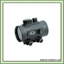 1x50 Weaver Mount Military Rifle Scope Sight Illuminated Red Green Dot Sight