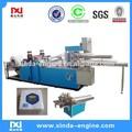 la fábrica de china de alta de salida de papel automático completo plegable 2 colores de impresión de mesa plegable de la máquina de la servilleta np7000k