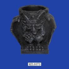 Home Decorative Goth Gothic Ceramic Candle Container Wholesale