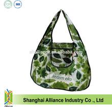 nylon wallet foldable shaped tote bag