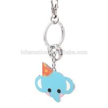 Hand Crafts 2015 OEM Cute Design Custom Animal Keychain For Gifts