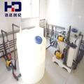 محطة مياه الشرب hd4k27 المشروع من الماء يعمل