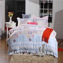 Bright Color Manufacter Printed 100% Tencel Jacquard Bedding Set/Sheet