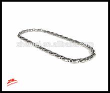 Nitrogen Stainless Steel Men's Link Necklace Chain (Length 18 - 38)