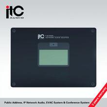 PA System IP LAN Network Audio Adapter IP PA System & IP Digital Amplifier T-6705C