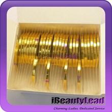 3mm width new striping tapes nail striping tapes 3d nail decoration