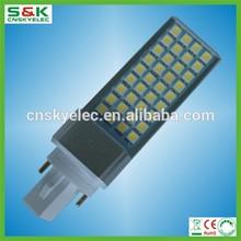 2700-6500K LED pl lamp with milky cover G24 led light plc 4 pin led bulb replace g24 26w g23 led pl lamp