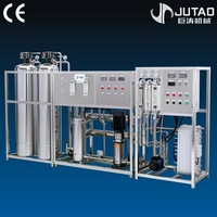 CE approved full automatic water desalination machine
