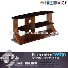 Luxurious curve elegant style ikea panel tv stand OK-W4015