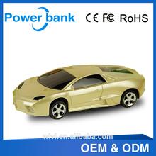 blue, yellow, white, etc color outdoor car shape power bank