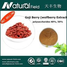 60days money back guarantee Pouplar Hot saling treat high blood fats and diabetes goji berry extract