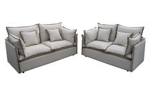 Popular sofa with piping