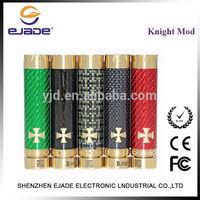 Hot selling red green black dark carbon fiber Knight mod mechanical vape mods vaporized clone 1:1 e cig wholesale China