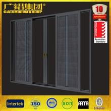Fashionable cheap aluminum curtains for sliding glass doors