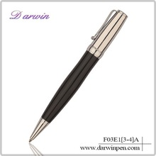 Copper metal ballpoint pen, logo metal ballpoint pen, heavy metal ballpoint pen