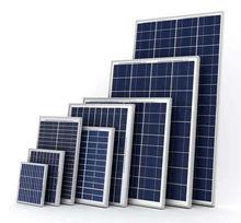 10w 15w 20w 30w 30w 18v poly solar panels