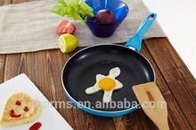 Blue lovely China Guangdong fry pan