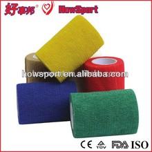 50mm*4.5m Medical Nonwoven Elastic Cohesive Bandage Ban Aid