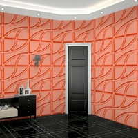 fire retardant building decoration material wallpapers 3d effect