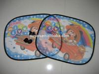 cute baby printing sunshade sun protection for car windows Susan tiantai Zhejiang