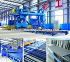 Q6925 series H beam/ steel plate type shot blasting Cleaning Type Sand blast machine /Blast cleaning machine