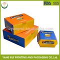 venta al por mayor de china mercado natural de chocolate de alta calidad caja de papel