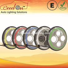Qeedon 7inch LED Round E-mark DOT Head lights h4 led head light bulb china for Harley Davidson