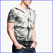 fashion o-neck short sleeve t shirt men 2015