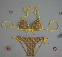girl's sexy mesh element bikini,promotion swimwear bikini