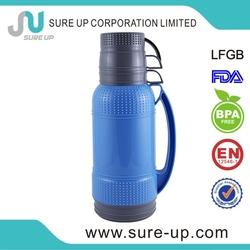 Kitchenware glass sports drink golf shape ss bottle (FGUQ018)