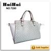 heat sealable bag fashion pu bag plain white cotton PU tote bag