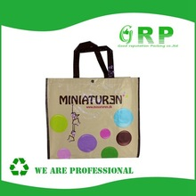 New Model High Quality Pp woven shopping bag promotional bag