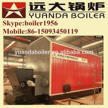Coal fired thermal oil boiler