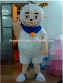 De dibujos animados traje de ovejas/mascota traje de dibujos animados/para adultos y niños traje de dibujos animados
