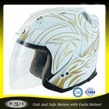 DOT unique men's motorcycle open face atv helmet