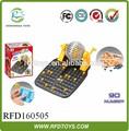 Plastic intelectiva brinquedos bingo jogo definido, jogo do bingo engraçado brinquedo, bingo presentes