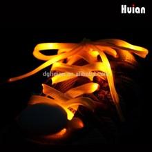 Light Up Flash LED Shoelaces Pink Blue Color - 3 Modes On, Strobe & Flashing