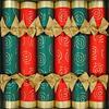 Traditional Swirls Christmas Crackers