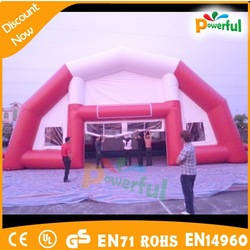 good quality inflatable pink camping tent,camping inflatable clear tent for event