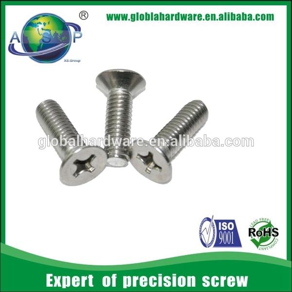 Head Lock Screws Good Price Flat Head Lock