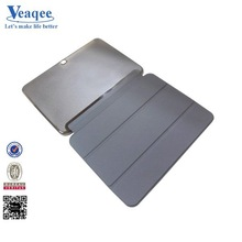 Veaqee new black color Pu+Pc leather case for ipad air